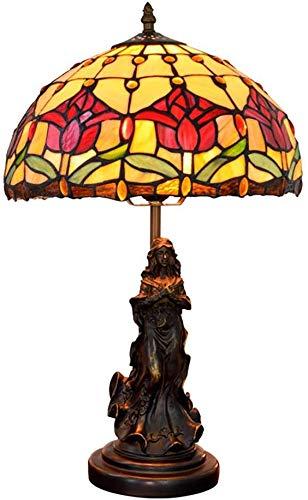 Schreibtischlampe Tischleuchte Antike Basisnachtschreibtischlampe Schöner BAU Sorgfältige Verarbeitung Leuchten-Taste (Color : Button) -