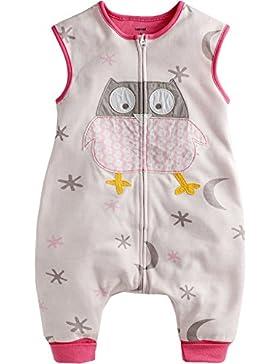 Vaenait baby 86-122 Kleinkinder Maedchen Unisex mit Beinen 100% Baumwolle Schlafsack Einteiler Spielanzug Schneeanzug...