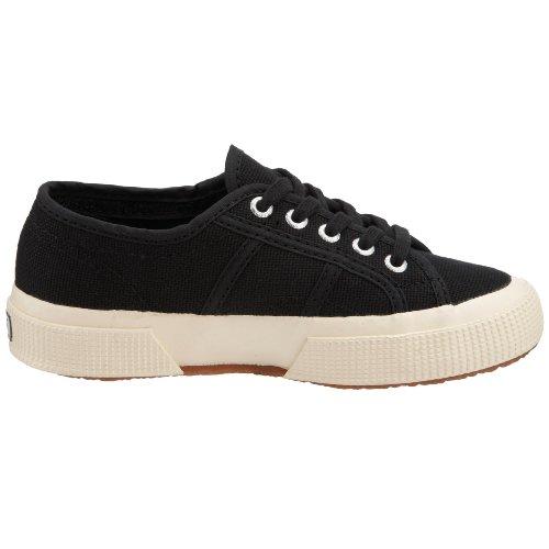 Superga 2750-JCOT CLASSIC S0003C0 Unisex-Kinder Sneaker 999 Schwarz