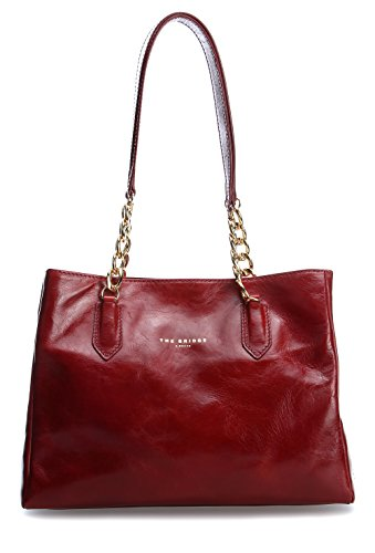 04234701 27x20x10 Damen cm Red Schultertaschen The Gold Bridge 178wanax