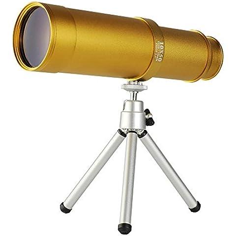 10X50 Telescopio, Ad Alta Potenza Cannocchiale, Con Una Piccola Staffa,B - Golf Uscita Acqua