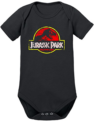 Serie Kostüm Tv Flash (TLM Jurassic Park Distressed Logo Babybody 62)