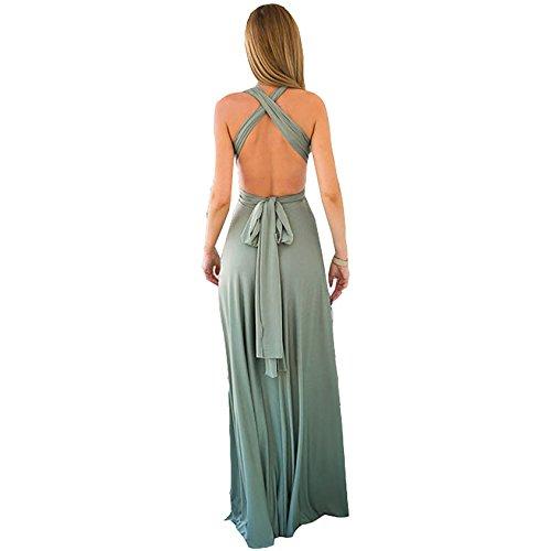Abendkleider Damen Cocktailkleid VAusschnitt Strandkleid Minikleid ...