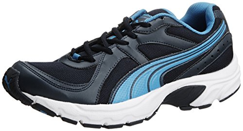 Puma Men's Kuris II Ind. Dark Denim, Fluo Peach and Methyl Running Shoes - 8 UK/India (42 EU)  available at amazon for Rs.1999