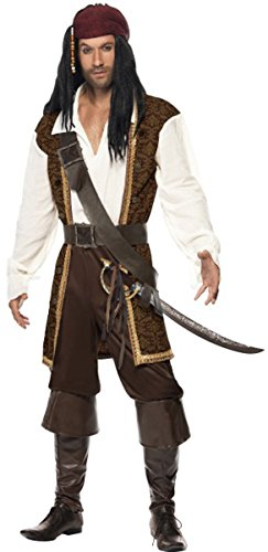High Seas Pirate Costume Large