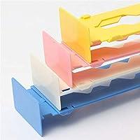 Cozywind - Separador de Armario Ajustable para cajón, plástico abs, Rosa, Small