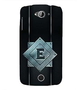 YuBingo Acer Liquid Z630 :: Acer Liquid Zade Z630S Designer Phone Back Case Cover ( Elegant Letter E (Metal Finish Plastic) )
