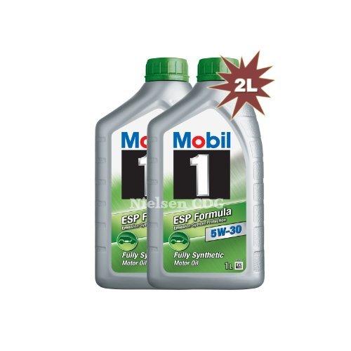 Mobil 15W-30ESP Synthetisches Motorenöl 1462382x 1L = 2L (Mobil 1 Filter)