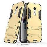 Cocomii Iron Man Armor Xiaomi Redmi Note 5/Redmi 5 Plus Hülle [Strapazierfähig] Taktisch Griff Ständer Stoßfest Gehäuse [Militärisch Verteidiger] Case Schutzhülle for Xiaomi Redmi Note 5 (I.Gold)