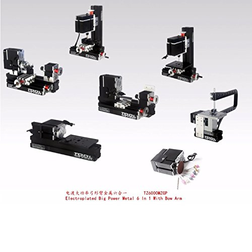 Mini Drechseln Motorisierte Mini Metal Working Drehmaschine