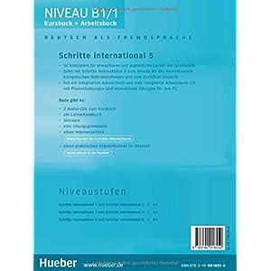 Jetzt herunterladen pdf Schritte international 5: Deutsch als Fremdsprache / Kursbuch + Arbeitsbuch mit Audio-CD zum Arbeitsbuch und interaktiven Übungen: Kursbuch Und Arbei