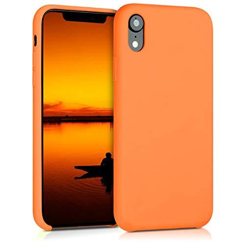 kwmobile Apple iPhone XR Hülle - Handyhülle für Apple iPhone XR - Handy Case in Cosmic Orange