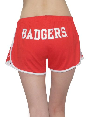 NCAA Wisconsin Badgers Womens Running / sports pants Red