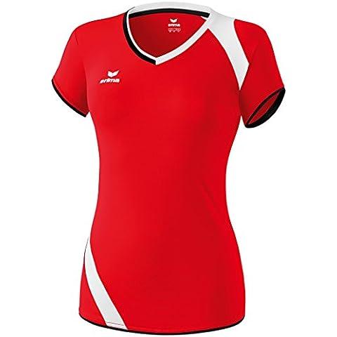 Erima Granada - Camiseta sin mangas para mujer, color rojo, negro y blanco rojo rojo, negro y blanco Talla:40