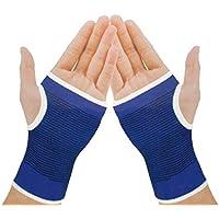 Sport im Freien Elastic Palm Support Handschutz 1 Paar Blau preisvergleich bei billige-tabletten.eu