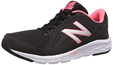 New Balance 490v4, Scarpe Running Donna, Nero (Black/Guava), 36.5 EU