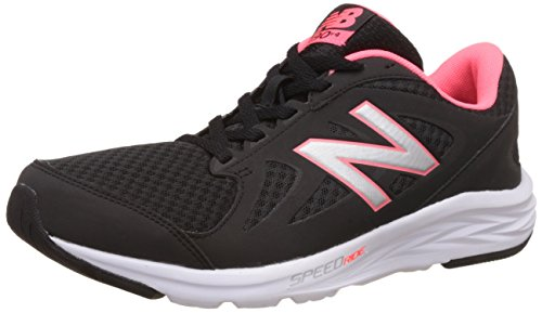 New Balance Damen 490v4 Hallenschuhe, Schwarz (Black/Guava), 37 EU New Balance Walking-schuhe Damen
