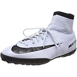 Nike JR Mercurialx Vcty 6 CR7 DF TF, Botas de Fútbol Unisex Niños, Blau (Blauton/Schwarz-Weiß-Blauton 401), 38 EU