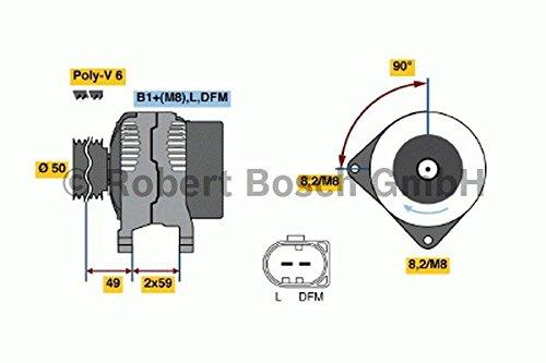 Bosch 0 124 325 013 Alternateur