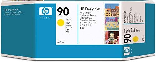 Preisvergleich Produktbild HP 90 3er-Pack Gelb Tintenpatrone, 400 ml