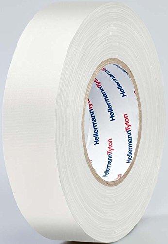 HellermannTyton Gewebeklebeband HelaTape Tex Weiß (L x B) 50 m x 50 mm Kautschuk Inhalt: 1 Rolle(n)