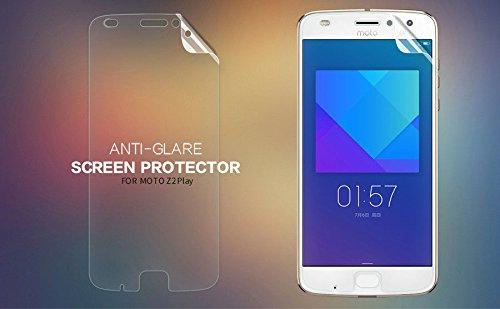 Nillkin Screen Guard for Motorola Moto Z2 Play Whole Set Version Matte Anti Glare Front + Back Camera Film