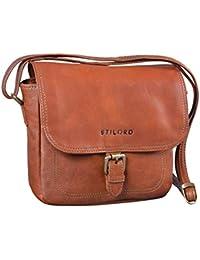 f269536941652 STILORD  Zoe  Umhängetasche Damen Leder Handtasche Frauen Elegante  Schultertasche Vintage Ledertasche klein 8