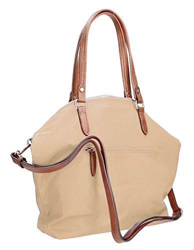Beige Nylon Schlüsselanhänger von mit Waipuna aus Handtasche Beige camel hochwertigem vq8xZITwg