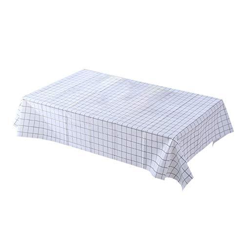 JUNGEN Mantel Antimanchas Mantel Rectangular PVC Mantel