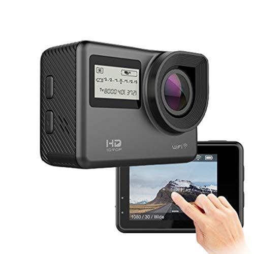 LSJZS Sport-DV-Action-Cam 1080P High Definition-Sport-Action-Kamera WiFi Wasserdichte Kamera mit Zwei Bildschirmen -