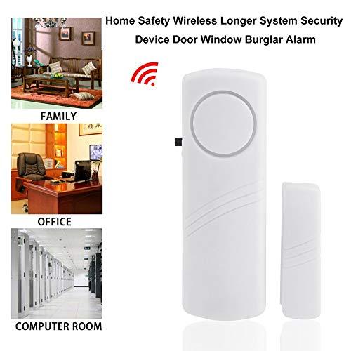 Türfenster Wireless Alarmanlage, mit Magnetsensor Home Safety Wireless länger System Security Device (Security-systeme Wireless)