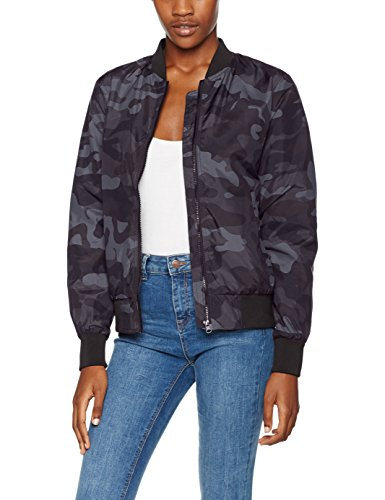 Urban Classics Damen Jacke Ladies Light Bomber Jacket Camo, Mehrfarbig (Darkcamo 707), Small
