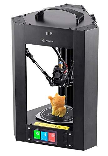 Monoprice Mini Delta 3d impresora calefactables Build