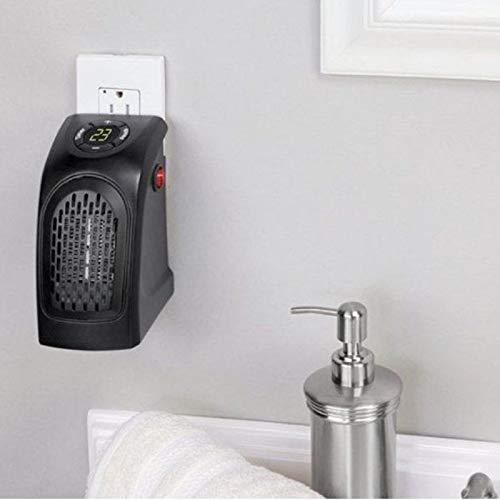 Termoventilador 350W Mini Pocket Heater Estufa Calentador Baño caldobagno