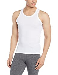 Force NXT Mens Cotton Vest (8902889608594_MNFR-231_Large_White)