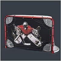 LIULU Hockey sobre Hielo Hockey Meta Estándar Objetivo portátil extraíble Hockey sobre Hielo Hockey Meta Meta (Color : Red, tamaño : 183cm*122cm*90cm)