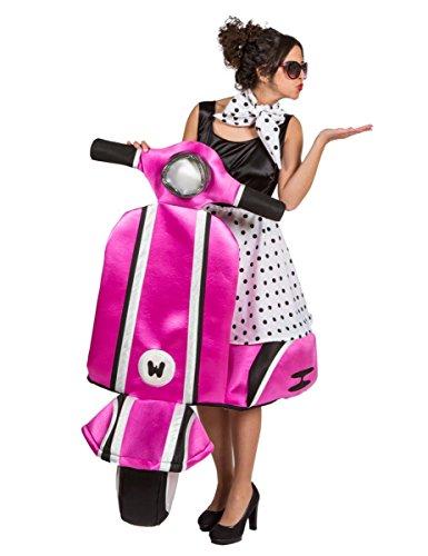 Premium-Kostüm Vespa der 60er Jahre für Frauen (Kostüme Frauen Jahre 60er)