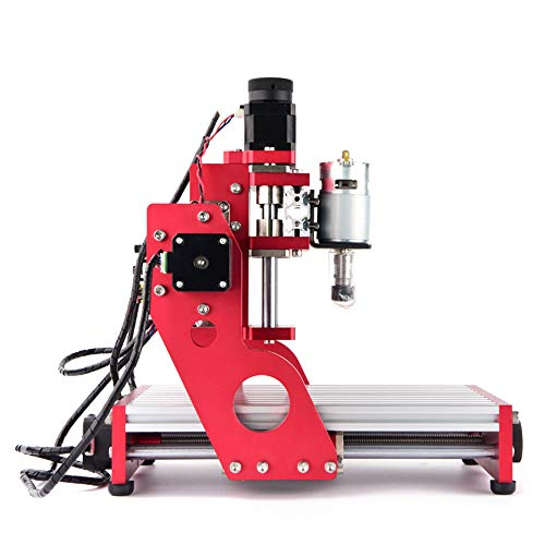 ETE ETMATE CNC 1419 Metall Gravur Schneidemaschine Router, Desktop DIY Fräsmaschine, Aluminium Kupfer Holz PVC PCB Maschine