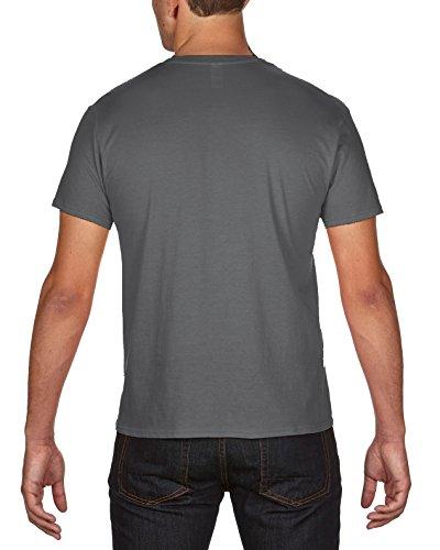 Touchlines Ja Es Wird Heute Noch Fertig, T-Shirt Uomo Grau (Darkgrey 17)