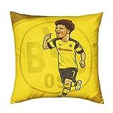 Borussia Dortmund Spieler Comic Kissen (one Size, JaJadon Sancho)