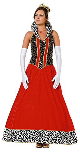 Motto Party Kostüm Märchen - Karneval-Klamotten Königin-Kostüm Damen lang Märchen Königin Märchen-Kostüm Karneval Damen-Kostüm Größe 46