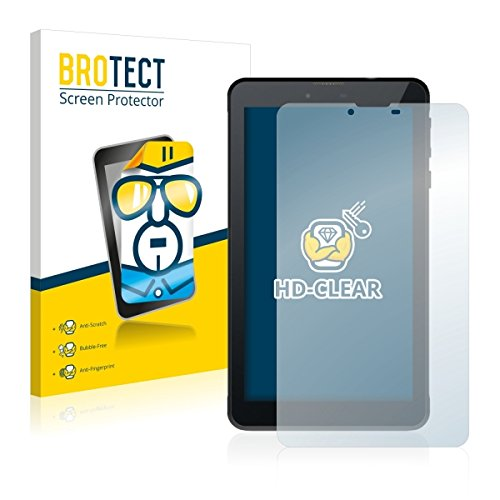 2X BROTECT HD Clear Bildschirmschutz Schutzfolie für Odys Rapid 7 LTE (kristallklar, extrem Kratzfest, schmutzabweisend)