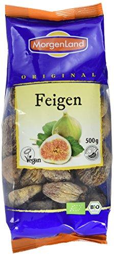 Morgenland Feigen natural - handverlesen - 500g Bio Trockenfrüchte, 1er Pack (1 x 500 g)