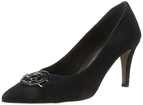 Tamaris Damen 22466 Pumps, Blau (Navy), 41 EU