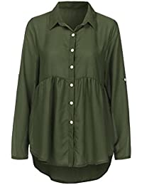 0f14b5b3753 Amazon.co.uk: Tops, T-Shirts & Blouses: Clothing: Blouses & Shirts,  T-Shirts, Vest Tops, Long Sleeve Tops, Polos & More