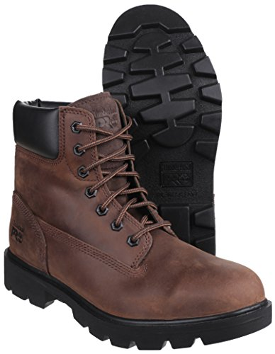 Timberland Sawhorse Brown Lace up Safety Boot - 9UK