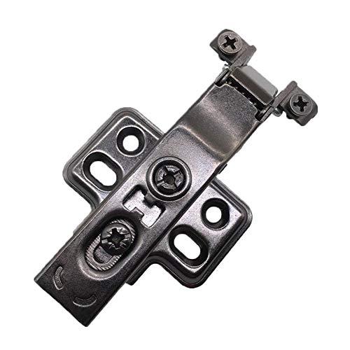Grad-Kabinett-Scharniere, Hardware-Werkzeug, schmale Seite überzogener schwarzer Aluminiumrahmen für Schranktür-Fenster-Möbel (Kabinett-scharnier-hardware)