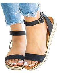 7df45575786 Amazon.es  sandalias mujer tallas grandes - 42   Zapatos para mujer ...