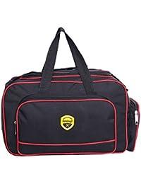 Hardcraft® Lightweight Waterproof Luggage Travel Duffel Bag - Black