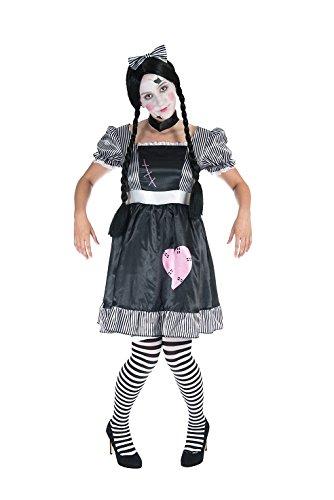 ppe Aufziehpuppe Damen Kostüm (Marionette Kostüm Halloween)